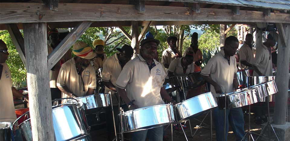 Steel Pan at Shirly's Heights
